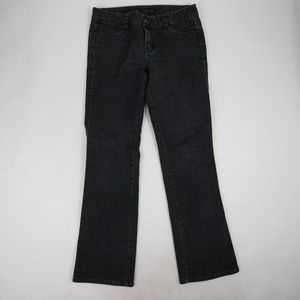 Calvin Klein Jeans Faded Black Size 10 Bootcut